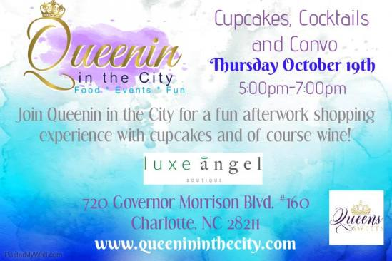 Cupcakes Cocktails Flyer New
