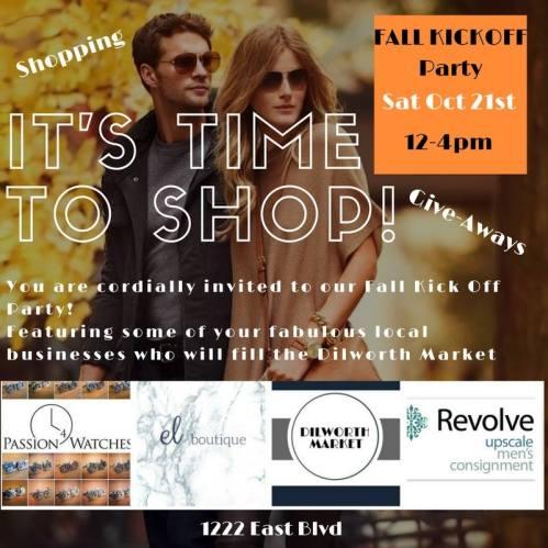 dilworth market fall kickoff event