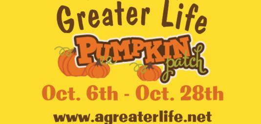 greater life pumpkin patch